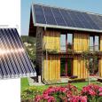 Solární ohřev vody využívá sluneční energii kdy s pomocí solárních kolektorů, teplonosného média a tepelného zásobníku lze zásobit jakýkoli objekt zdarma teplou vodou pro spotřebu...
